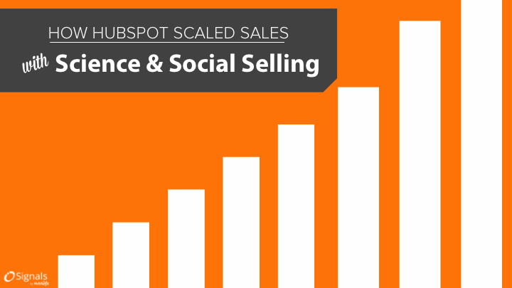 How We Scaled Sales With Science and Social Selling [SlideShare]