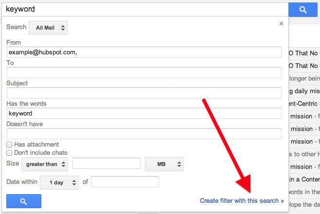 how to set up forwarding in gmail filter