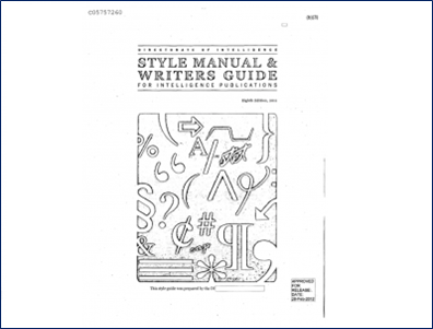 The CIA Released Their Style Guide, and It's Absolutely Fascinating