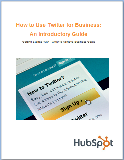 Free Ebook: How to Use Twitter for Business - An Introductory Guide