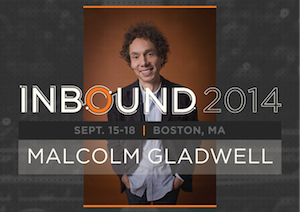 Bestselling Author Malcolm Gladwell Joins INBOUND 2014's Keynote Lineup