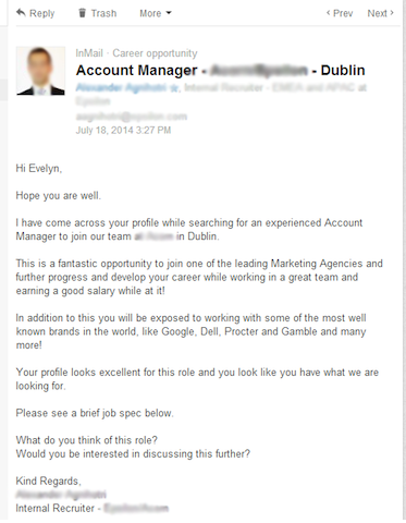 LinkedIn-connection-message