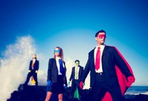Four Business Superheroes