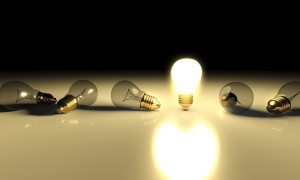 The Myth of the Light Bulb Idea