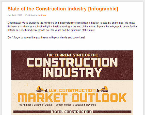 STATE OF CONSTRUCTION