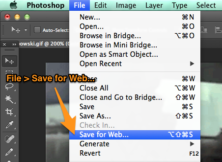How to add text to a gif in photoshop cs2