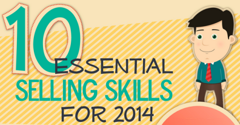 The 10 Skills That Set Sales Winners Apart [Infographic]