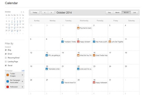 How HubSpot Calendar Saves You Time And Sanity - Hubspot content calendar template
