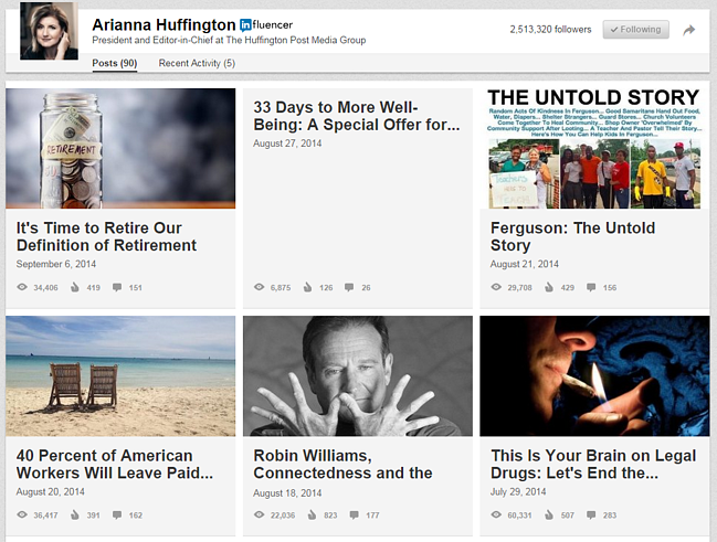 arianna_huffington_linkedin_articles