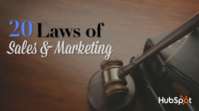 Experts Tell All: The 20 Laws of Sales & Marketing