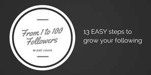 How to Go from 1 to 100 Twitter Followers in 7 Days or Less [Customer Story]