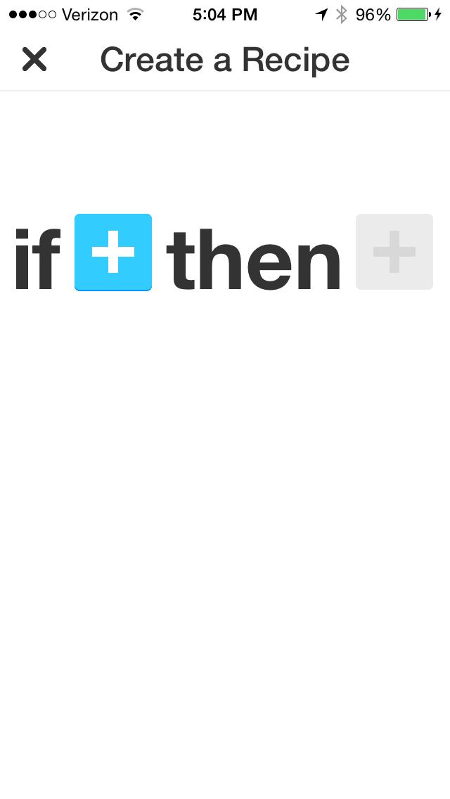 IFTTT移動應用程序