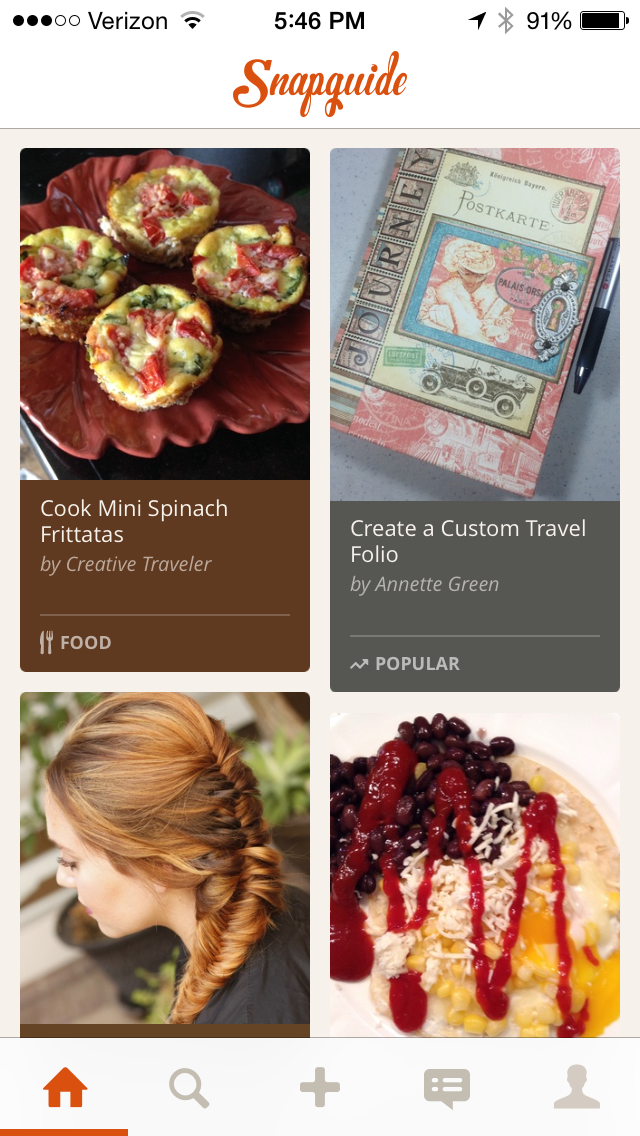 snapguide-1  15 of the Best Lifestyle Mobile Apps You Need in Your Pocket snapguide 1