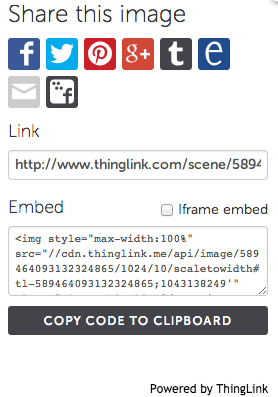 thinglink-sharing-options
