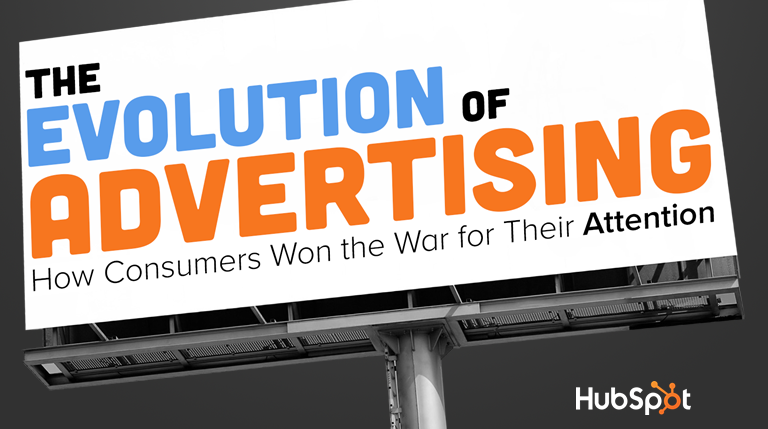 The History of Advertising: How Consumers Won the War for Their Attention [SlideShare]