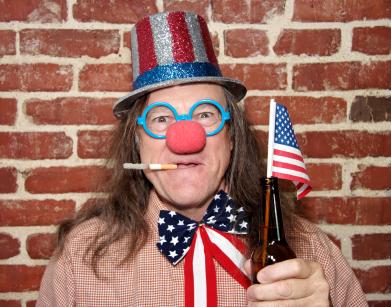 patriotic-clown