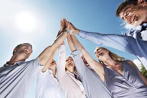 bad-stock-photo-team-celebration-high-five