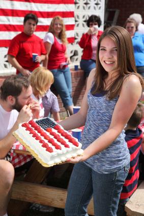 patriotic-cake-girl