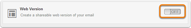Create a Web Version of Your Email