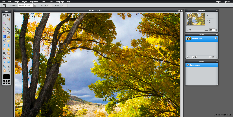 pixlr web based image editor