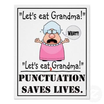 lets-eat-grandma grammar joke