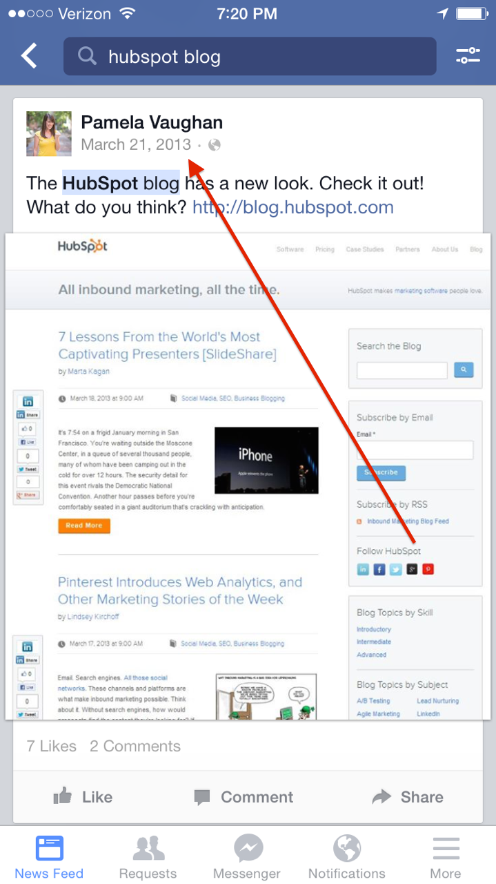 Facebook Graph Search Now Lets You Find Old Posts: Here's ...
