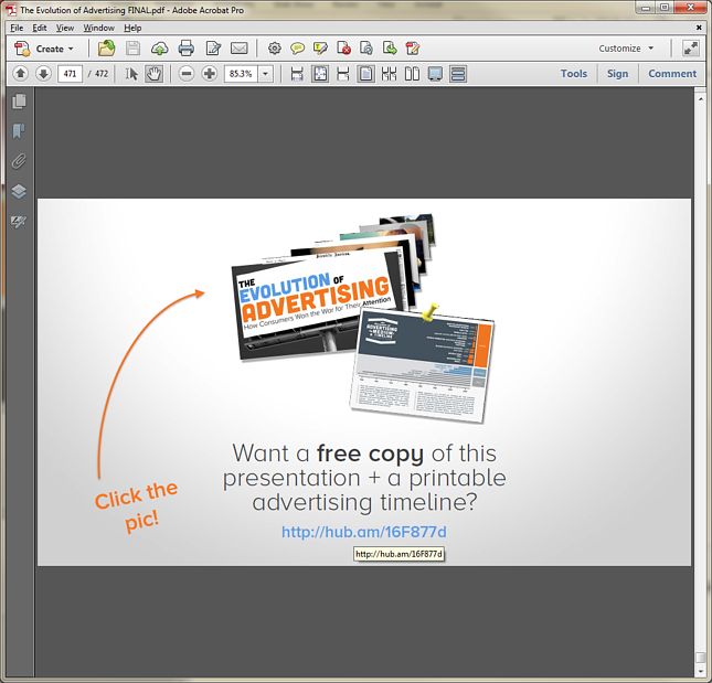 how to create link for pdf