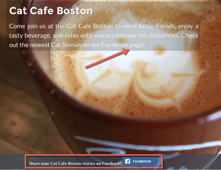 example of using personalization by source