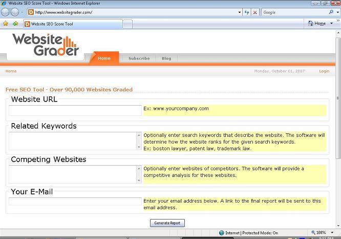 website_grader_screenshot