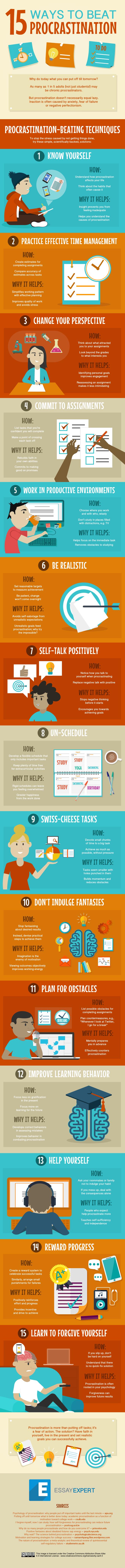 15-Ways-to-Beat-Procrastination