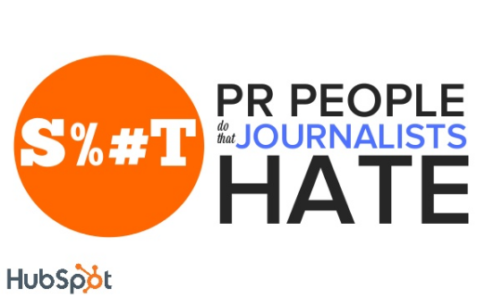 S%*t PR People Do That Journalists Hate [SlideShare]