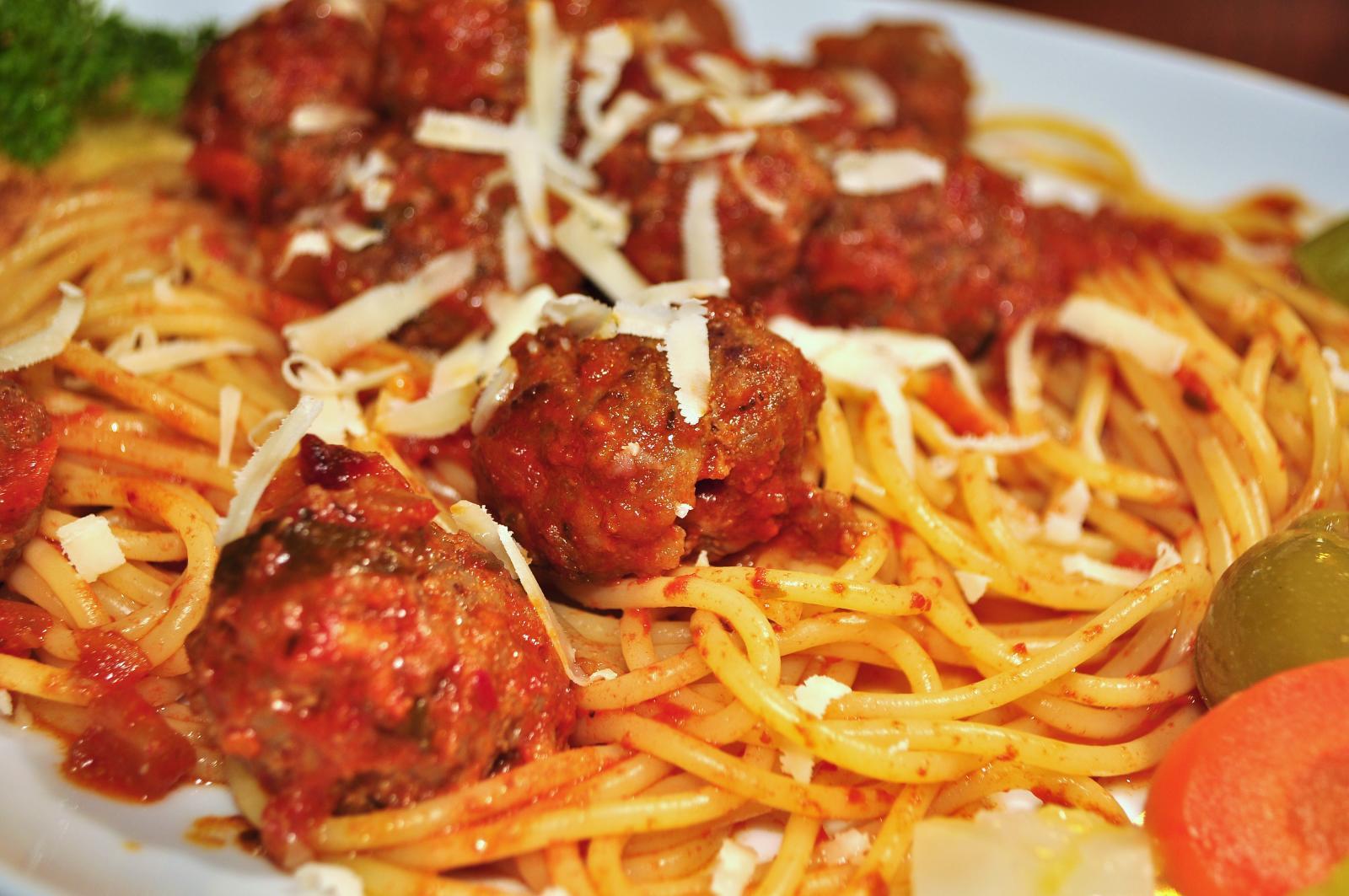 Yummy Plate of Spaghetti