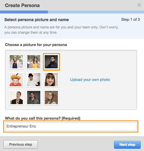 Creating a Buyer Persona within HubSpot