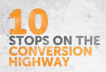 10 stops on conversion highway