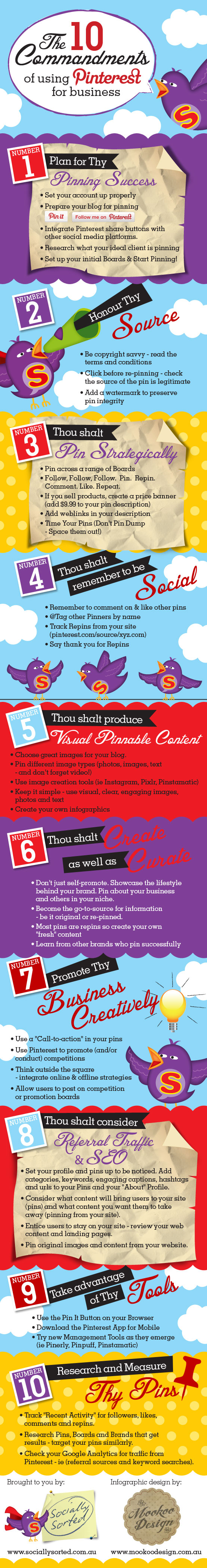 10 commandments of using pinterest for business resized 600