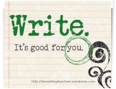 Writing is good for you
