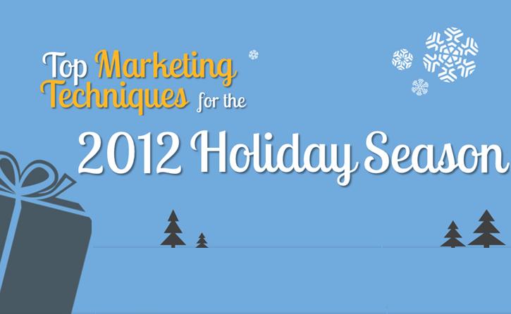 2012 holiday marketing data stats