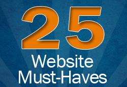 25 website must haves sm