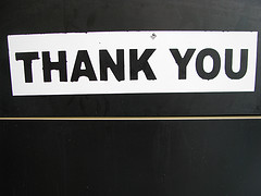 Thank you, Come Again!: Best Practices for Thank You Pages