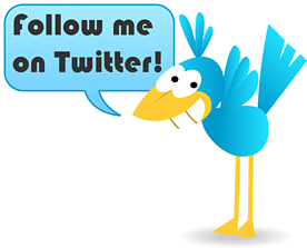 twitter, following