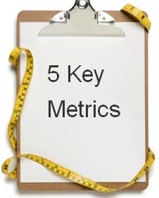 5 key metrics