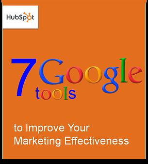 7 Google Tools Ebook Cover