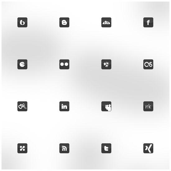 life in pixel icon set