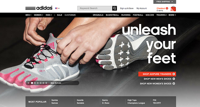 brand segment of adidas