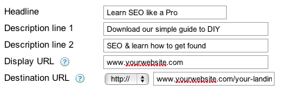 adwords tracking url