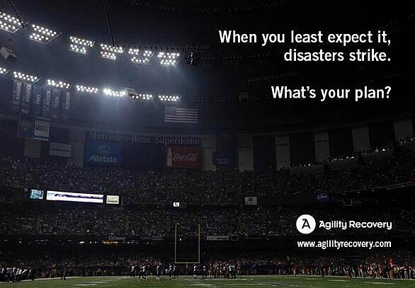 agilit recovers super bowl power outage