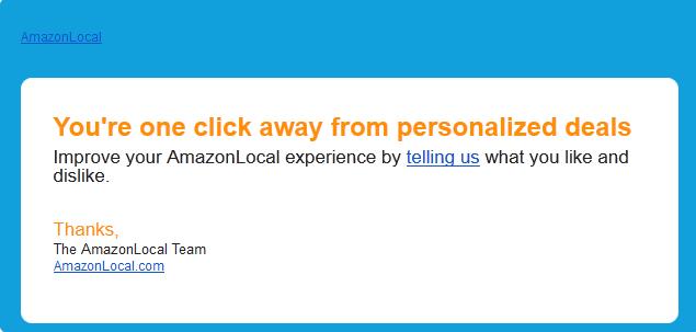 amazon local email marketing