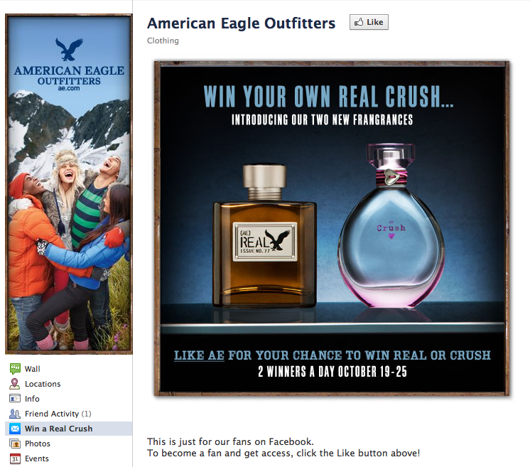 American Eagle Before the Like