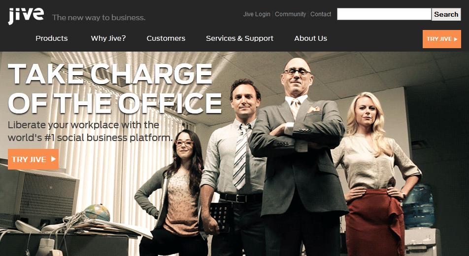 animated gif on homepage