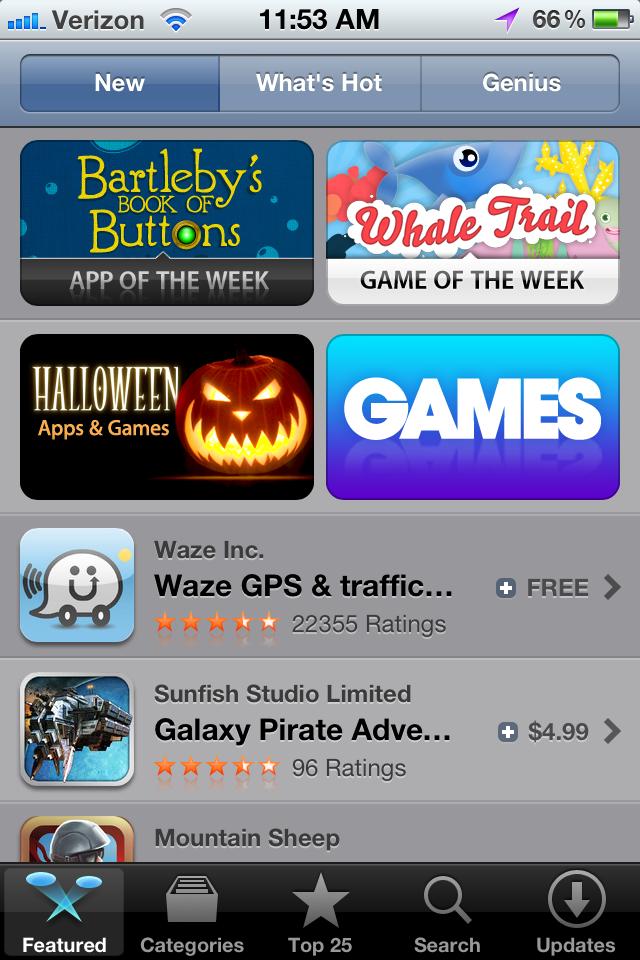 App Store Mobile